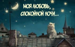 Пожелания доброй ночи девушке в картинках, открытках, гифках