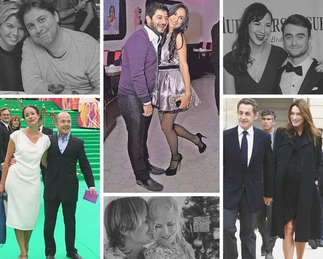 Знаменитые пары в которых мужчина ниже