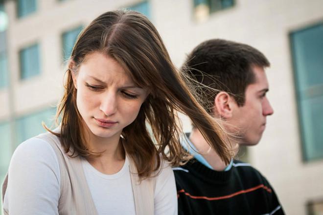 Парень сказал девушке о расставании